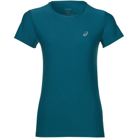 asics SS Top Maglietta da corsa Donna blu